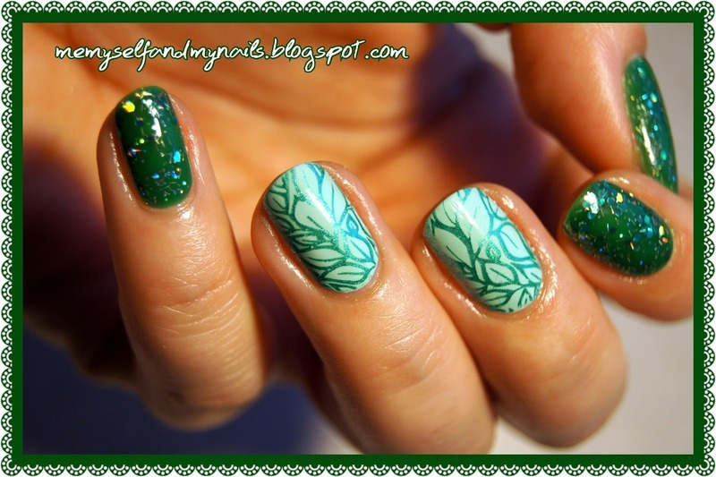 In spite of the weather nail art by ELIZA OK-W
