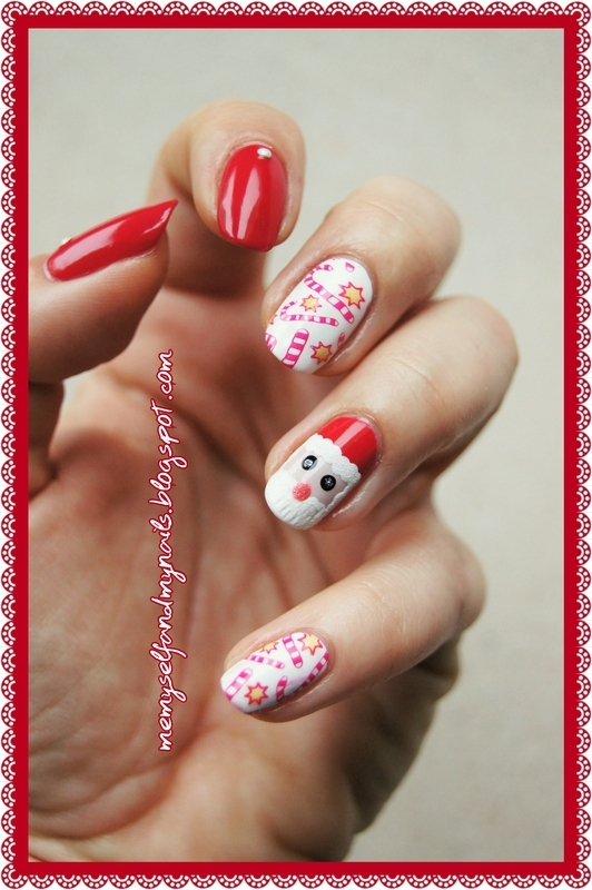 Christmas is coming nail art by ELIZA OK-W