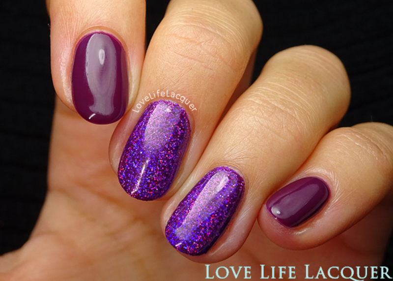 Magpie Beauty Mable nail art by Love Life Lacquer