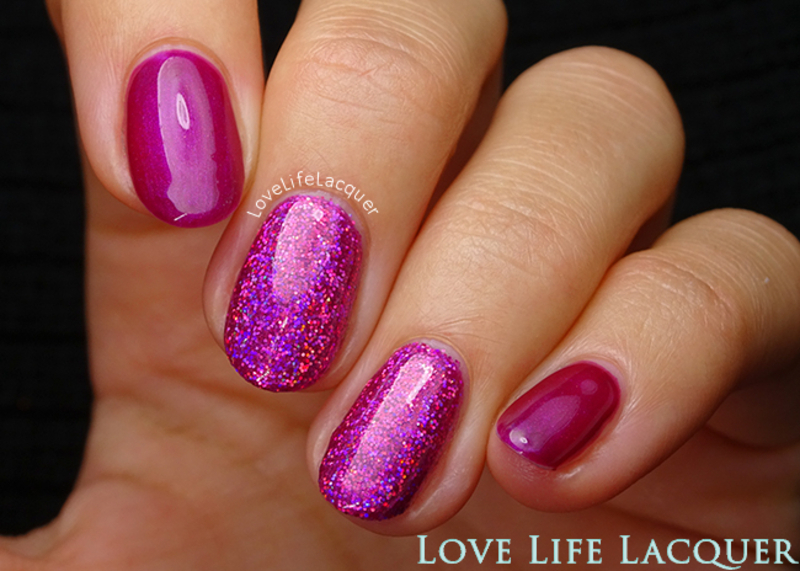 Magpie Beauty Lou-Lou nail art by Love Life Lacquer