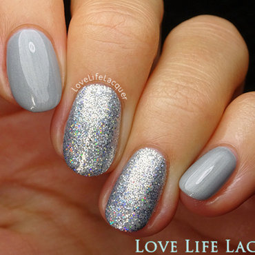 Magpie Beauty Lola nail art by Love Life Lacquer
