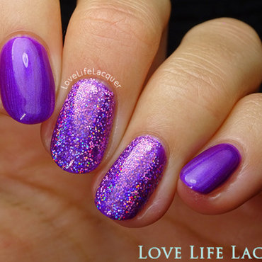 Magpie Beauty Livvi nail art by Love Life Lacquer