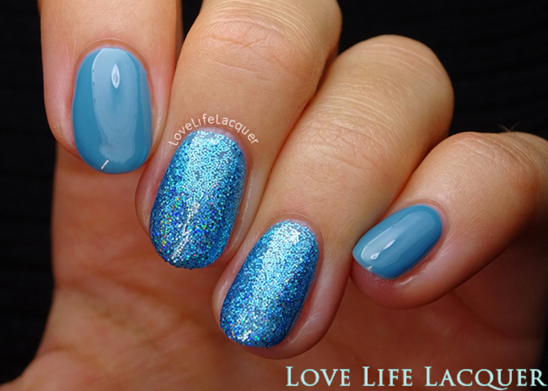 Magpie Beauty Kiki nail art by Love Life Lacquer