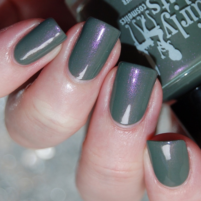 Girly Bits Dead Man\'s Toe Swatch by Katie of Harlow & Co ...