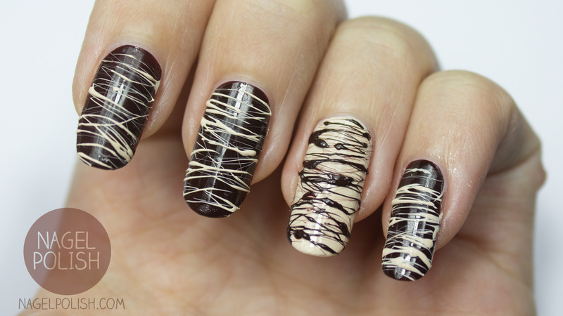 Sweet Chocolate Pralines Nails Nail Art By Nagel Polish Nailpolis