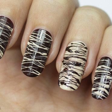 Sweet Chocolate Pralines Nails nail art by Nagel Polish