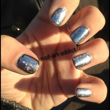 Nail Art : Nails Foil nail art by SowNails