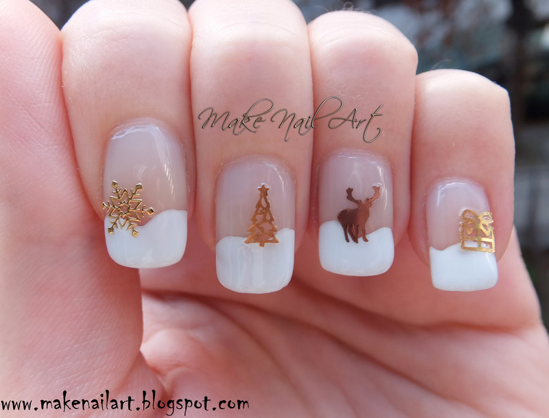 Christmas Nail Art Decorations nail art by Make Nail Art - Nailpolis ...