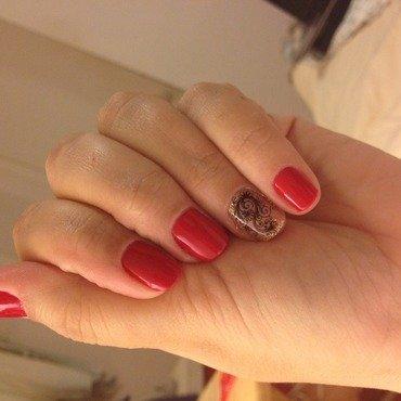 Lace it's my style  nail art by Elyana