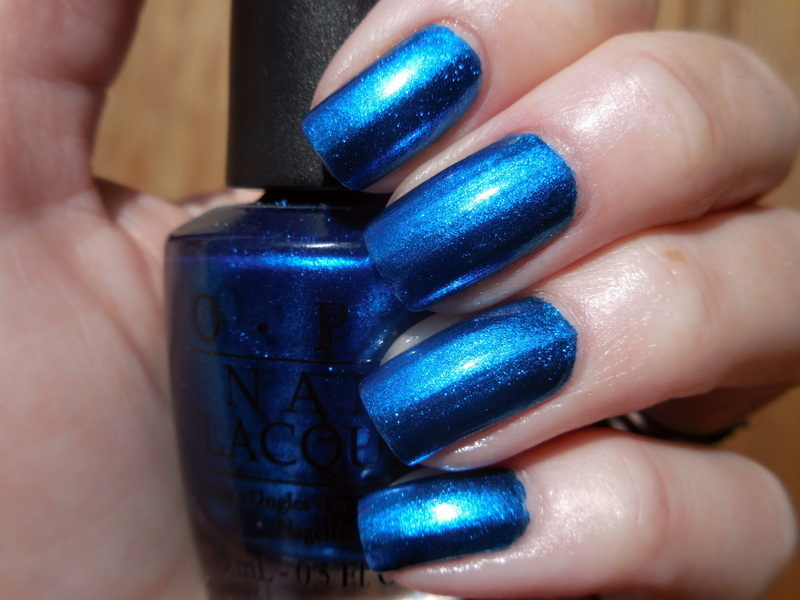 OPI Swimsuit... Nailed It Swatch by Donner
