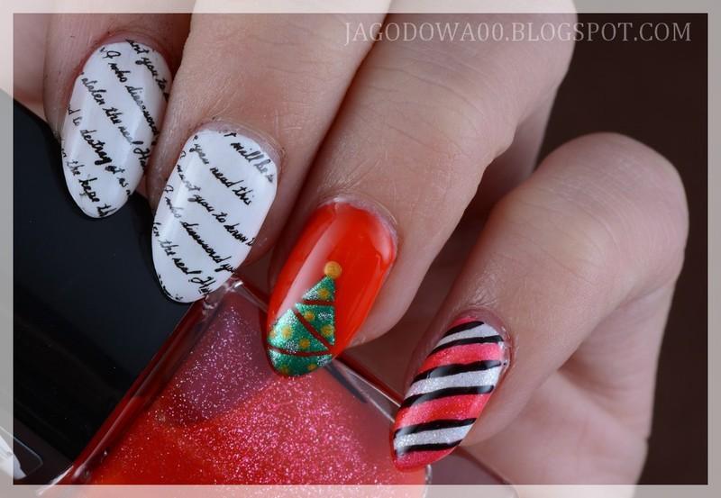 Letter to Santa Claus! nail art by Jadwiga