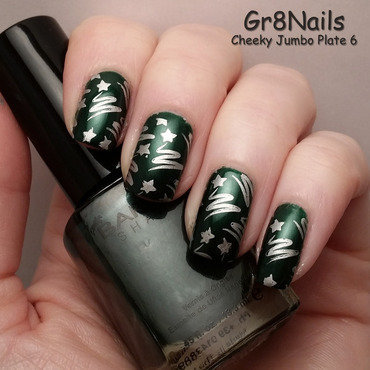 Christmas Trees nail art by Gr8Nails