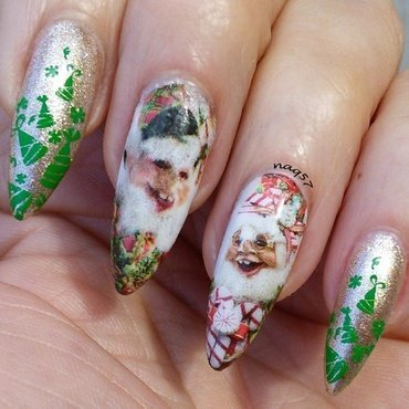 The Elves. nail art by Nora (naq57)