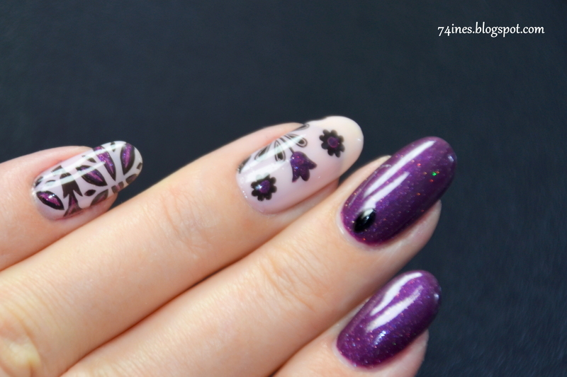 Decode nail art by 74ines