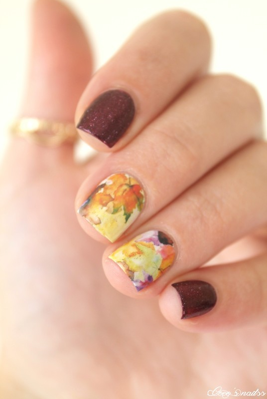 Fall nail art by Cocosnailss