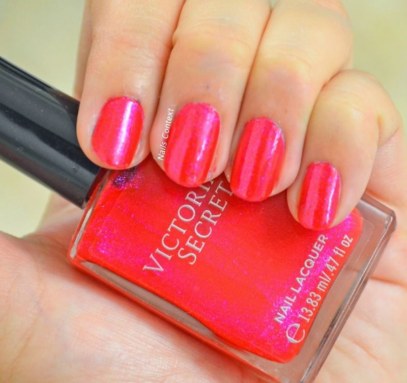 Victorias Secret I'm No Angel Swatch by NailsContext