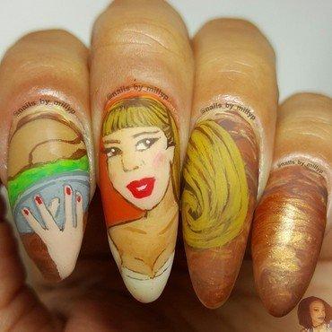 Turkey's ready nail art by Milly Palma
