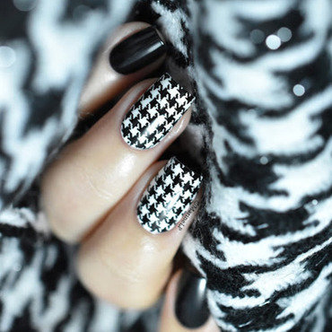 Houndstooth nails 20 4  thumb370f