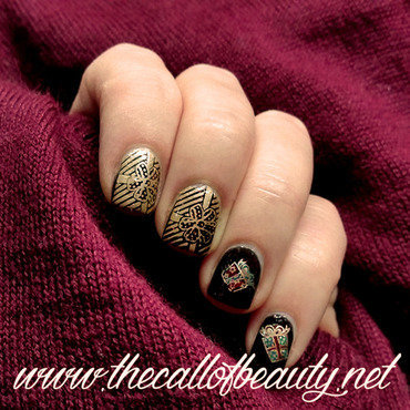 Winter 20nail 20art 20challenge 20  20gift 20wrap 20 14  20wm thumb370f