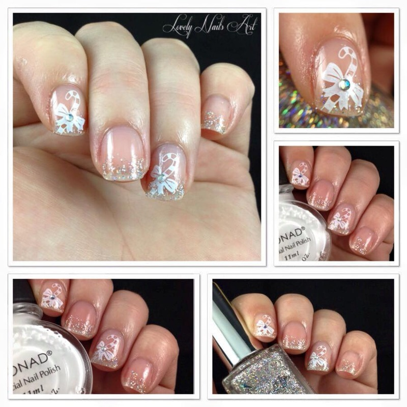 Nail art stamping canne d'orge  nail art by Lovely Nail's  Art