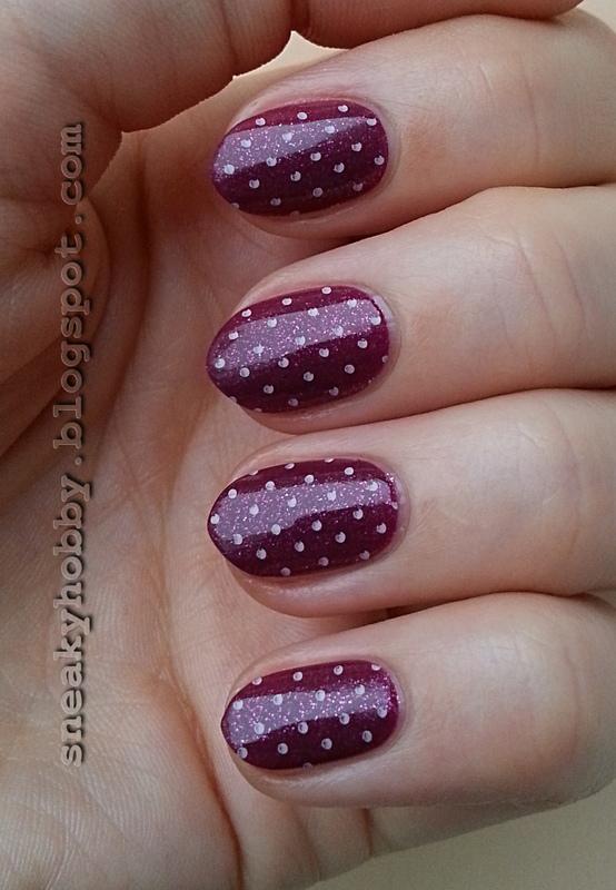 Adorable Pink Dots! nail art by Mgielka M