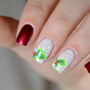 Christmas time nail art by bopp