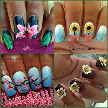 Spring FourEver nail art by Dess_sure