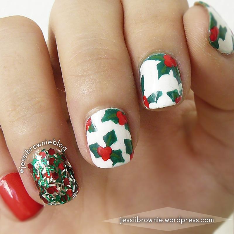 Christmas Nails Nail Art nail art by Jessi Brownie (Jessi)