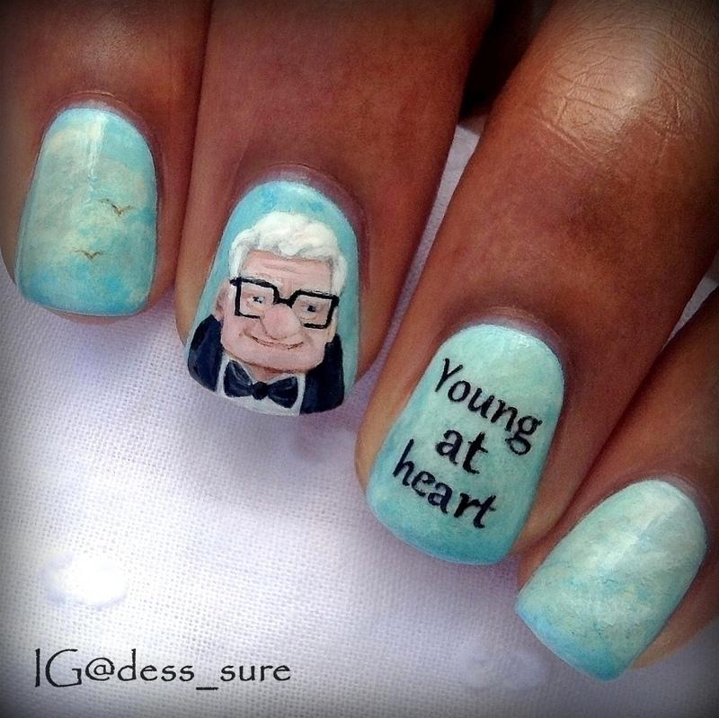 Up  nail art by Dess_sure