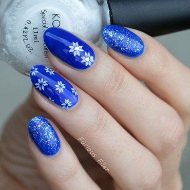 December Mix nail art by Furious Filer