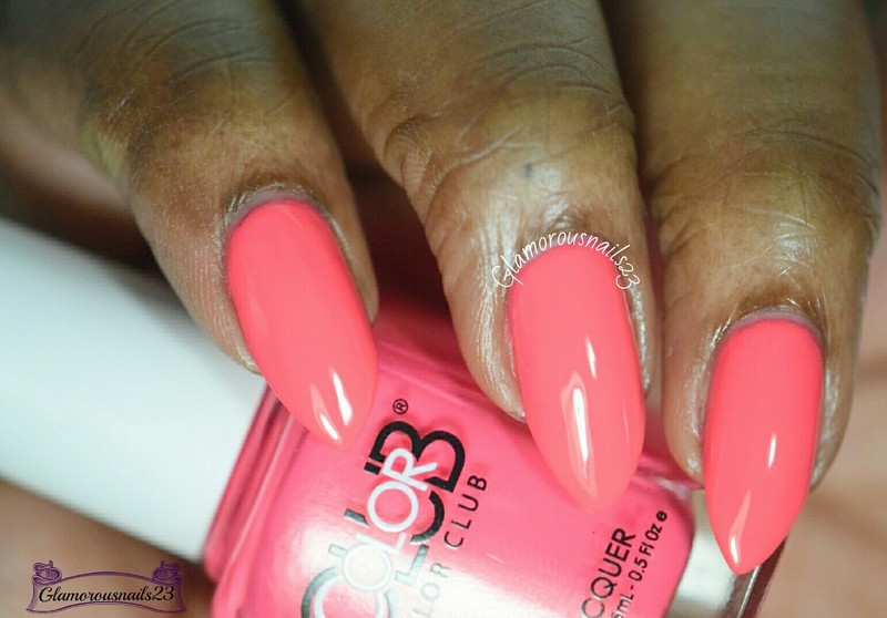 Color Club Jackie Oh! Swatch by glamorousnails23