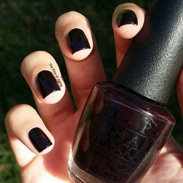 OPI Lincoln Park After Dark Swatch by Monica