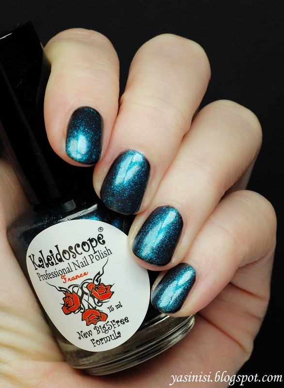 Kaleidoscope Night Dreams Pisces Swatch by Yasinisi