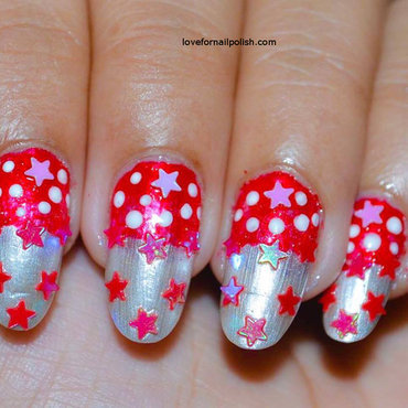 Fun & Easy Christmas Nails nail art by Demi