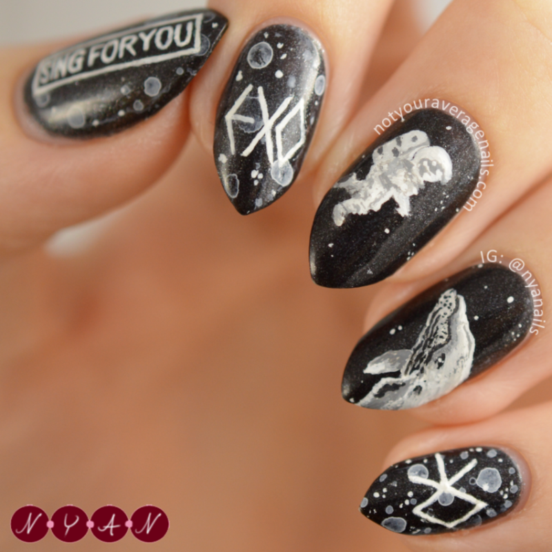 Sing For You nail art by Becca (nyanails) - Nailpolis: Museum of ...