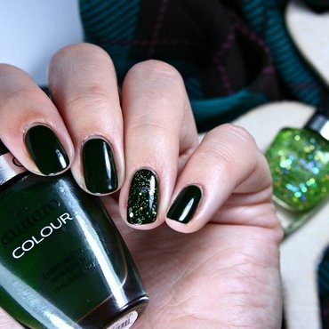 Cuccio Glasgow Nights and Cuccio Shake it Up! Swatch by Romana