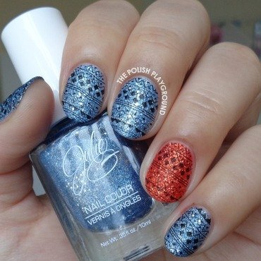 Blue 20and 20red 20textured 20sweater 20inspired 20stamping 20nail 20art thumb370f