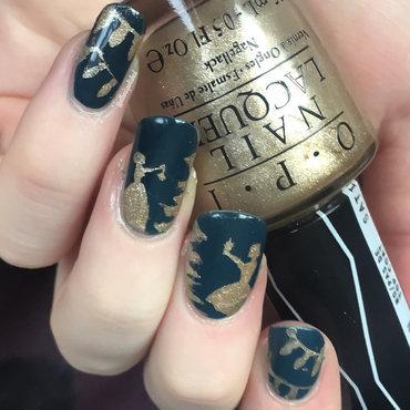 Decorating The Tree nail art by allwaspolished