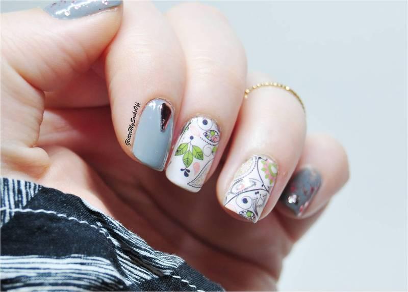 Doodle nail art by GlitterMySocksOff