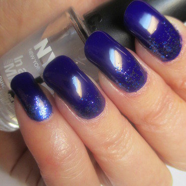Orly Color Blast Follow Your Path and Pure Ice Look My Way Swatch by NinaB