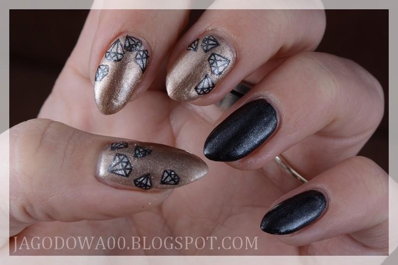 Shine like a diamonds! nail art by Jadwiga