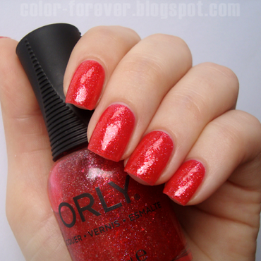 Orly 15 Minutes Of Fame Swatch by ania