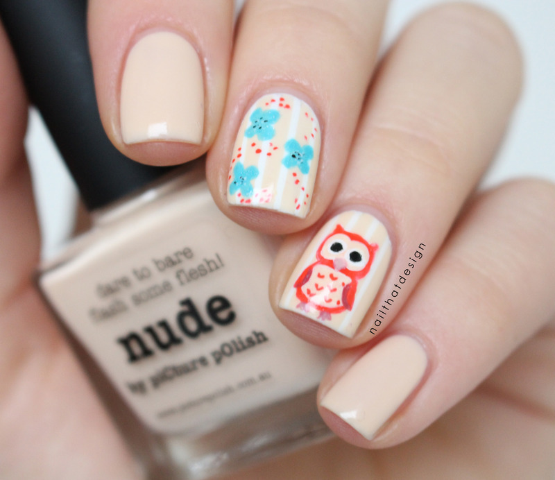piCture pOlish blogfest 2015 nail art by NailThatDesign
