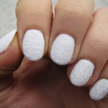 Fluffy  nail art by Nail Crazinesss