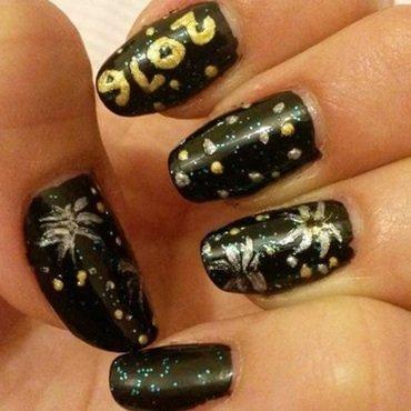 New Years Eve Nail Art nail art by Francis Mesquita
