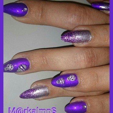 Something xmas nail art by Markalmns