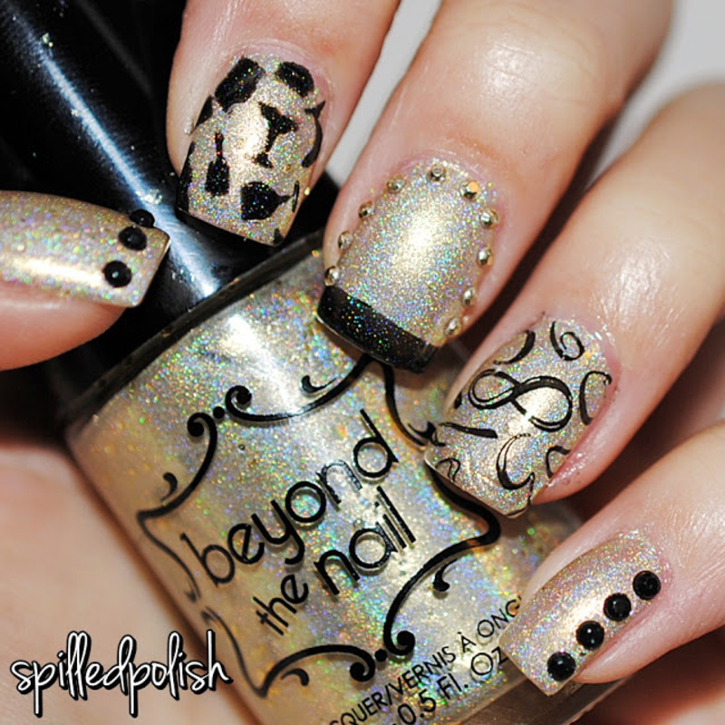 Countdown to New Years 2016 nail art by Maddy S