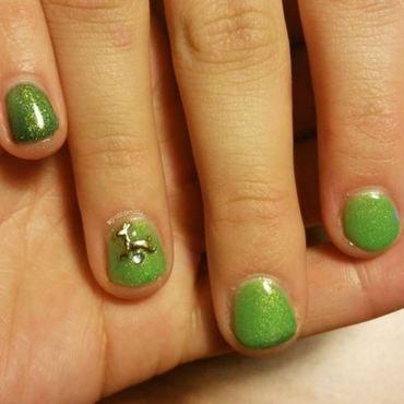 Taylor's Christmas Nails nail art by Kristen Lovett