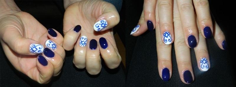 New Year Eve nail art by Magda