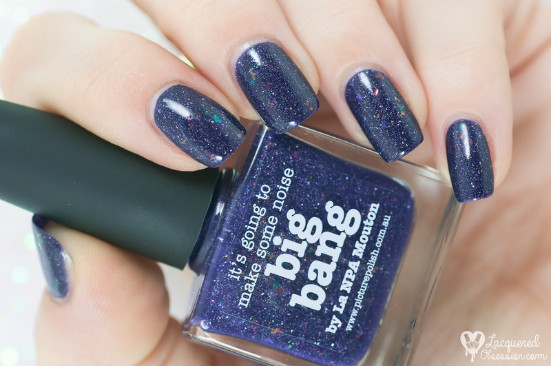 piCture pOlish Big Bang Swatch by Lacquered Obsession